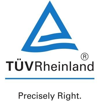 TÜV Rheinland Logo, Contact us at info@nl.tuv.com